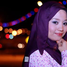 by Pinang Mawong - People Portraits of Women