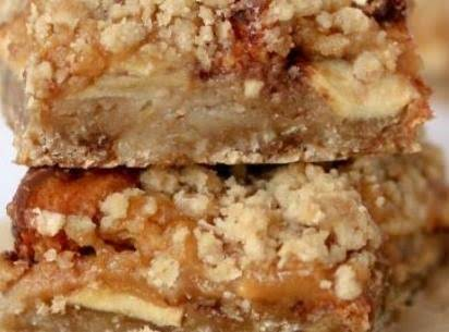 Caramel Apple Butterfinger Bars Recipe