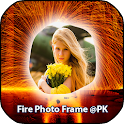 Fire With Photo Frame :@PK icon
