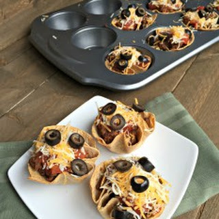 Mexican Beef Taco Cups.