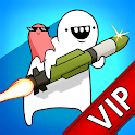 [VIP]Missile Dude RPG: Offline tap tap Missile icon