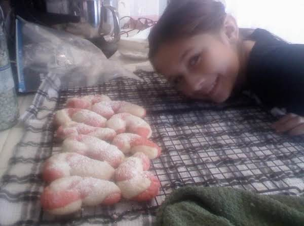 Alyssa's Candy Cane Cookies Recipe