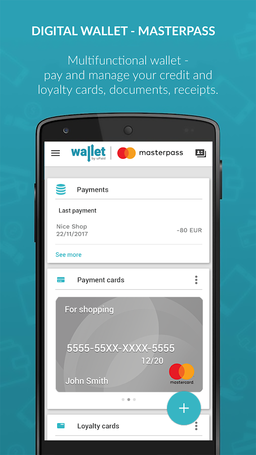 uPaid Wallet- screenshot