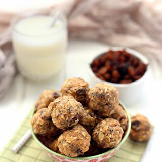 No-Bake Oatmeal Protein Energy Balls