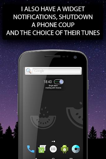 Alarm clock Malarm ⏰ Without stress. Without ads. screenshot 7