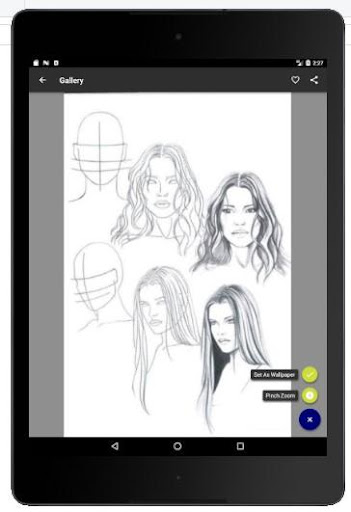 Face Drawing Step by Step 1.3.0 screenshots 8