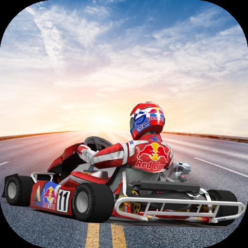 Traffic Go Kart Racer 3D icon