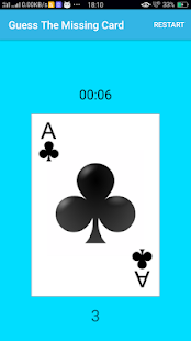 Guess The Missing Card - náhled