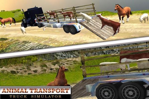 Offroad Animal Transport Truck - screenshot