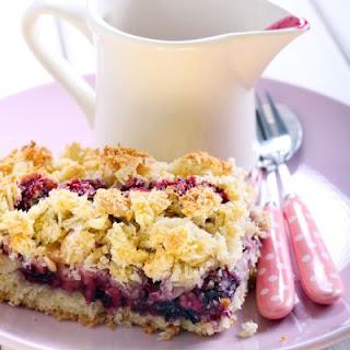 Very Berry Blueberry Crockpot Dump Cake.