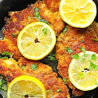 Breaded Chicken Piccata.