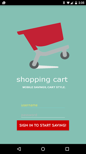 Shopping Cart demo
