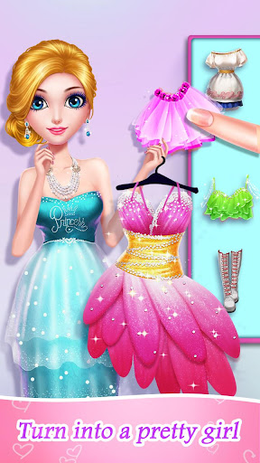 Princess Beauty Salon - Birthday Party Makeup 2.0.3151 screenshots 2