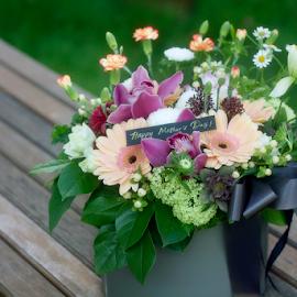 Flower For Mum by Steven De Siow - Flowers Flower Arangements ( flower photography, flowers, flower art, flower arrangement, flower,  )