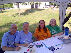 Photo: Ft Wayne IN- Three Rivers Festival- FosterPark- Start Table