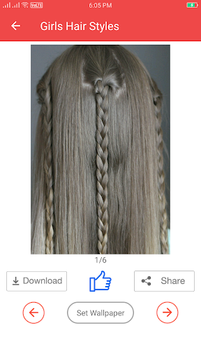 Girls Hairstyle Step by Step  screenshots 16