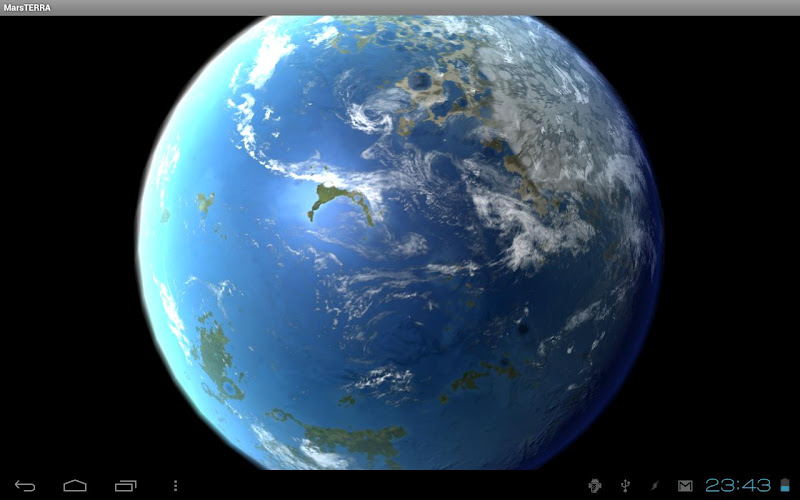 Скриншот Moon Terra 3D Live Wallpaper