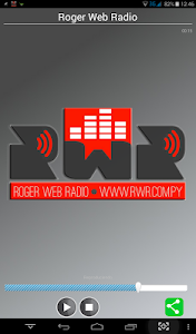 Roger Web Radio screenshot 0