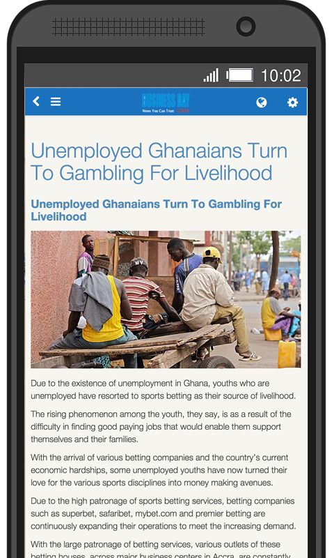 Business Day Ghana- screenshot