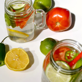 Bloody Mary Infused Water.
