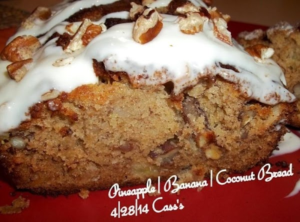 Pineapple/banana/coconut Bread - Cass's Recipe