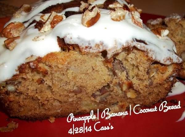Pineapple/banana/coconut Bread - Cass's Recipe
