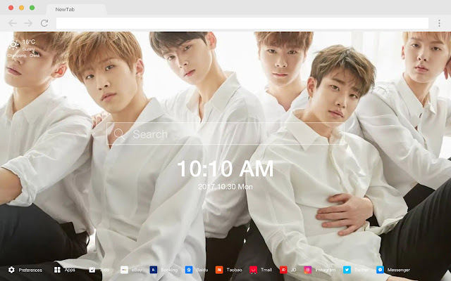 Astro Top Artists New Tabs HD Themes