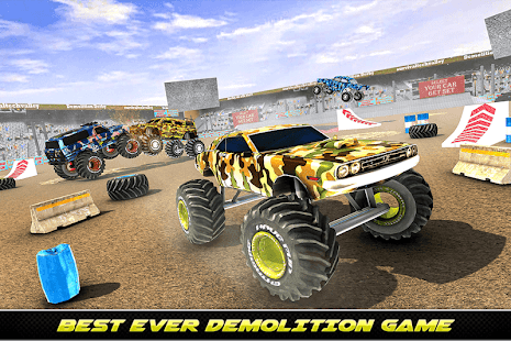 Army Monster Truck Demolition : Derby Games 2020 for PC-Windows 7,8,10 and Mac apk screenshot 12
