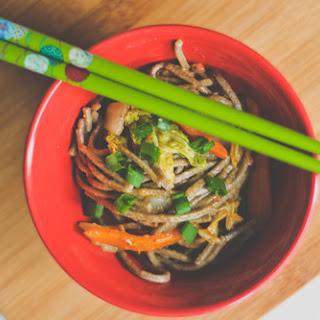 Shrimp Soba Noodle Bowl.