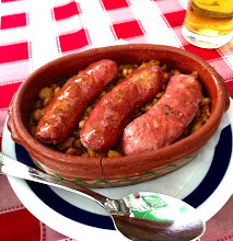 Photo: Serbian beans and sausage at ? Restaurant.  Oldest Cafe in Belgrade.