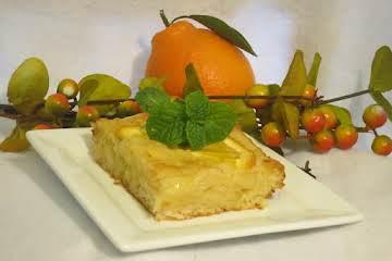 Brandy Infused Portokalopita (Orange Phyllo Cake)