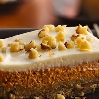 Pumpkin Cheesecake Squares.