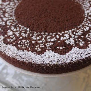 Chocolate Orange Almond Cake (DF)