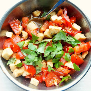 Chopped Caprese Salad.