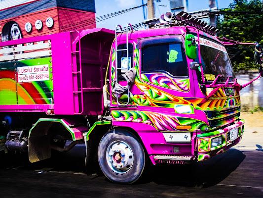 Thai truck in corsa.  di Nemesys61
