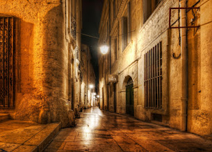 Photo: The Streets of Montpellier by night  Usually I go in after dusk... but, when the streets are so wonderful in the night... I never want to go back!  #SICInDatabase