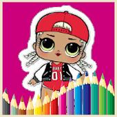 Lol Coloring Book Dolls Surprise Mod