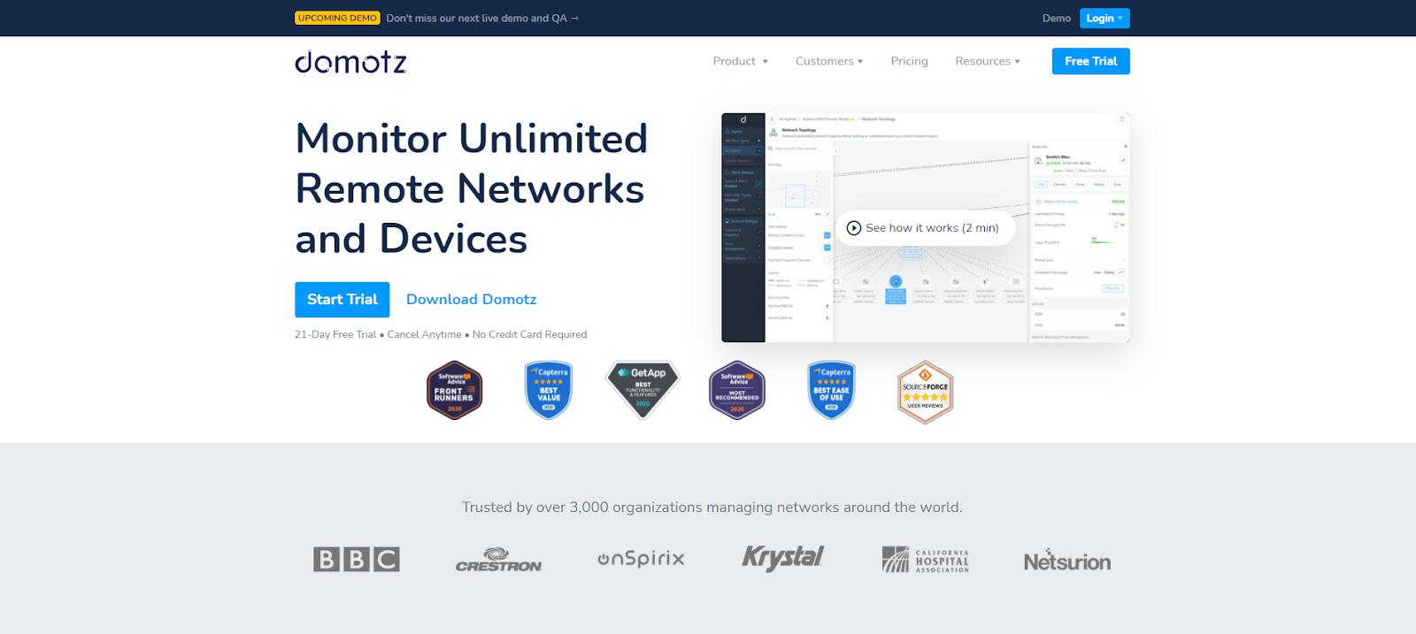 Domotz Pro Network Monitoring Tool