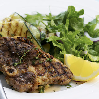 Lemon and Thyme Lamb Chops