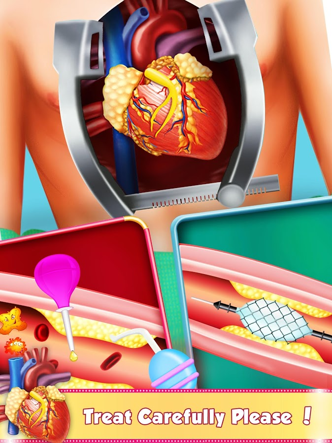 Open Heart Surgery: Er Emergency Doctor Games- screenshot