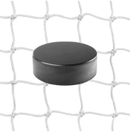 Hockeynät 2 mm Nylon Vit 40mm