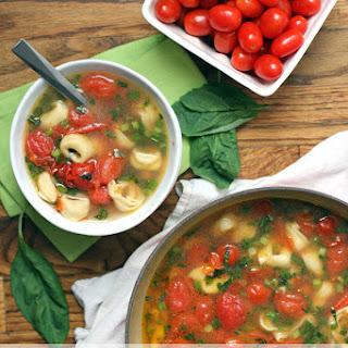 Cherry Tomato and Tortellini Soup Recipe