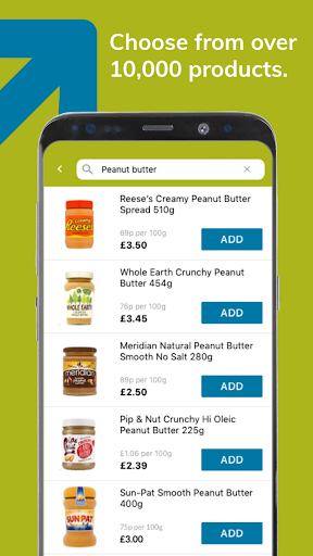 Ocado Zoom grocery delivery screenshot 2