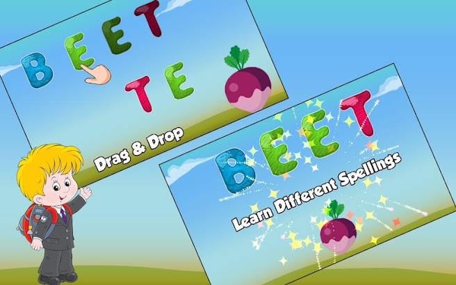 Kids Spelling Practice Game- screenshot thumbnail