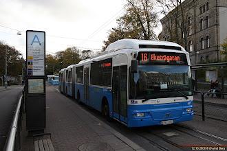 Photo: #807: APG 250 ved Grönsakstorget, Göteborg, 12.10.2008.