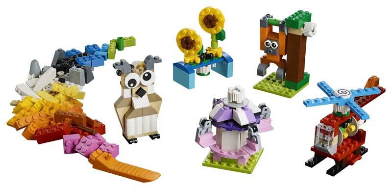 Contenido de Lego® 10712 Ladrillos y Engranajes