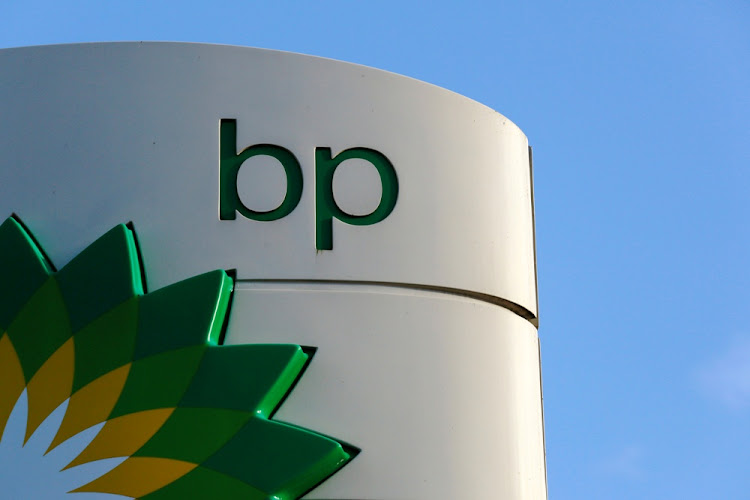 The BP logo in London, the UK. Picture: REUTERS/Luke MacGregor