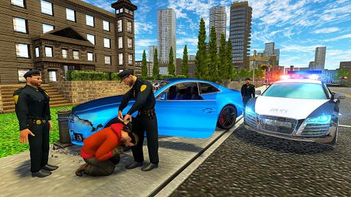 مطاردة سيارة العصابات للشرطة الحقيقية: لقطات شاشة لمحاكاة القيادة 8