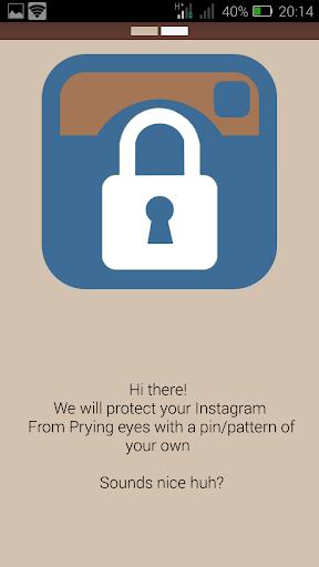 Lock for Instagram