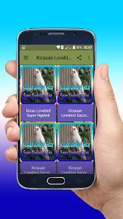 Kicauan Lovebird Gacor Super Ngekek Offline - náhled